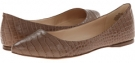 Dark Taupe Croco Nine West SpeakUp for Women (Size 7)
