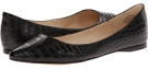 Black Croco Nine West SpeakUp for Women (Size 7)