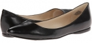 Black/Black Leather Nine West SpeakUp for Women (Size 7)