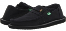 Black Sanuk Kingston Jute for Men (Size 7)
