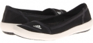 Black/Chalk/Dark Shale adidas Outdoor Boat Slip-On Sleek for Women (Size 5)