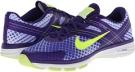 Hyper Grape/Dark Concord/Hydrangeas/Volt Nike Dual Fusion TR 2 Print for Women (Size 5.5)