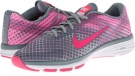 Aviator Grey/Light Ash Grey/Ion Pink/Hyper Pink Nike Dual Fusion TR 2 Print for Women (Size 5.5)