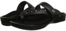Black Aetrex Sandalista Kendra Adjustable Gladiator Slip-On for Women (Size 7)