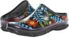 Black Multi Bogs Urban Farmer Clog for Women (Size 7)