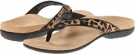 Tan Leopard VIONIC with Orthaheel Technology Selena for Women (Size 7)
