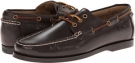 Dark Brown Smooth Pull Up Polo Ralph Lauren Bienne II for Men (Size 15)