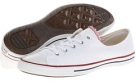 White Converse Chuck Taylor All Star Fancy Ox for Women (Size 6.5)