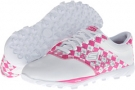 White/Pink SKECHERS Performance Go Golf for Women (Size 7.5)