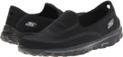Black SKECHERS Performance GoWalk 2 - Fresco for Women (Size 5)