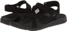 Black New Balance RevitalignRX Inspire Sandal W3054 for Women (Size 11)