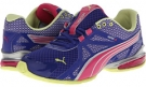 Spectrum Blue/Beetroot Purple/PUMA Silver/Sunny Lime PUMA Voltaic 5 for Women (Size 7)