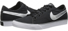 Black/Cool Grey/White/Metallic Silver Nike Primo Court Canvas for Women (Size 5.5)