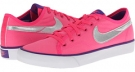 Hyper Pink/Hyper Grape/White/Metallic Silver Nike Primo Court Canvas for Women (Size 5.5)