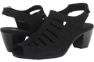 Black Nubuck Munro American Abby for Women (Size 12)