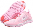 Perfect Pink/Laser Crimson/White Nike Free 5.0 TR Fit 4 Breathe for Women (Size 5.5)
