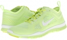 Liquid Lime/Venom Green/White Nike Free 5.0 TR Fit 4 Breathe for Women (Size 5.5)