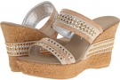 Cork With Silver Onex Breeze for Women (Size 5)