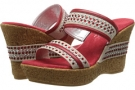 Red Leather Onex Breeze for Women (Size 5)