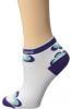 Stripe Flower Purple Haze Pearl Izumi Elite Low Sock for Women (Size 5)