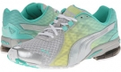 Glacier Gray/White/Sunny Lime/Electric Green PUMA Volita Wn's for Women (Size 7)