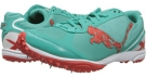 Pool Green/Grenadine PUMA Haraka XCS for Women (Size 7)