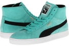 Pool Green PUMA Suede Classic Mid Basic SP for Women (Size 7)