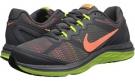 Dark Grey/Metallic Silver/Volt/Bright Mango Nike Dual Fusion Run 3 for Women (Size 5.5)