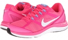 Hyper Pink/University Blue/White Nike Dual Fusion Run 3 for Women (Size 5.5)