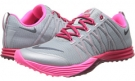 Light Magnet Grey/Hyper Pink/Fuchsia Force/Dark Magnet Grey Nike Lunar Cross Element for Women (Size 5.5)