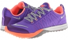 Hyper Grape/Bright Mango/Light Ash/Light Ash Grey Nike Lunar Cross Element for Women (Size 5.5)