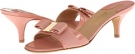 Blush Patent Salvatore Ferragamo Glory 1 for Women (Size 7)