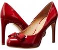 Rosso Patent Salvatore Ferragamo Pimpa for Women (Size 7)