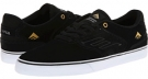 Black/White Snake Multi Emerica The Reynolds Low Vulc for Men (Size 8)