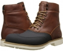 Red/Brown Timberland Earthkeepers Stormbuck 6 Duck Boot for Men (Size 10)