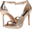 Gold Leather Steven Rykie for Women (Size 7)