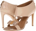 New Bisque Patent Salvatore Ferragamo Pellas for Women (Size 7)