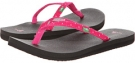 Fuchsia Dots Sanuk Yoga Joy Dots for Women (Size 7)