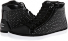 Just Cavalli Soft and Patent Leather Hi-Top Sneaker Size 6