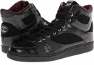 Just Cavalli Crocco and Suede Leather Hi-Top Sneaker Size 13