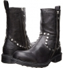 Just Cavalli Washed Leather Boot Size 9