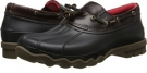 Black/Amaretto Sperry Top-Sider Avenue Duck Toggle for Men (Size 7)