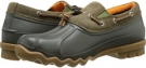 Olive Sperry Top-Sider Avenue Duck Toggle for Men (Size 9.5)