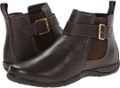 Dark Brown VIONIC with Orthaheel Technology Adrie Ankle Boot for Women (Size 7)