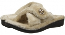 Taupe VIONIC with Orthaheel Technology Relax Luxe Slipper for Women (Size 7)