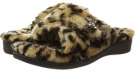 Tan Leopard VIONIC with Orthaheel Technology Relax Luxe Slipper for Women (Size 7)