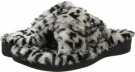 Grey Leopard VIONIC with Orthaheel Technology Relax Luxe Slipper for Women (Size 7)