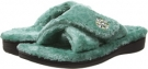 Teal VIONIC with Orthaheel Technology Relax Luxe Slipper for Women (Size 7)