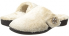 Taupe VIONIC with Orthaheel Technology Gemma Luxe Slipper for Women (Size 7)