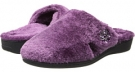 Plum VIONIC with Orthaheel Technology Gemma Luxe Slipper for Women (Size 7)